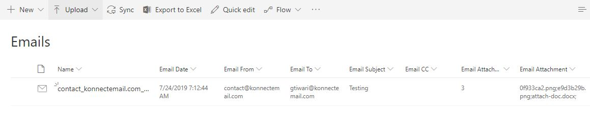 SharePoint to Outlook - Drag and Drop Email Connector - Email Record Compliance